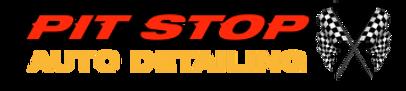 Pit Stop Auto Detailing Logo