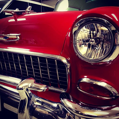 Beautiful detailed 1955 Bel-air from Pit Stop Auto Detailing