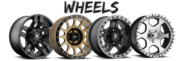 Picture of aftermarket wheels
