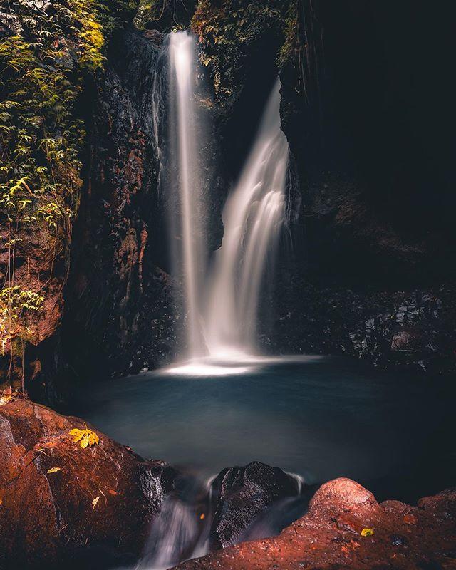 Gitgit Waterfall in Bali- a peaceful & b