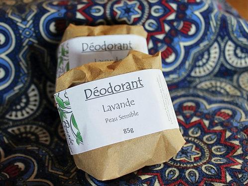 Déodorant solide: Lavande (peau sensible)
