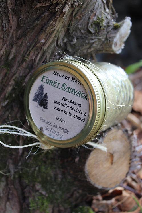 Sels de bain: Forêt sauvage