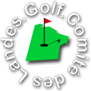 logo comité landes golf