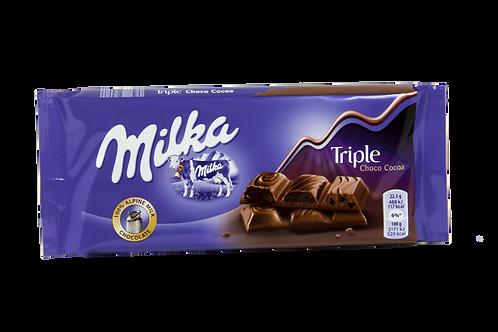 Milka Triple Choco Bar
