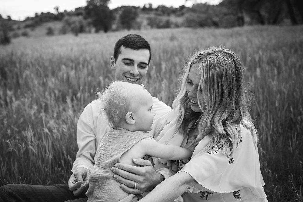 Colorado Springs Family Portrait by Colorado Springs Photography Brenna Skattebo