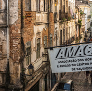 amach housing community -  rights to the city - amach sign