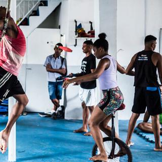 saramandia, centre for arts and consciousness: circus class