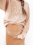 Lightweight Peach MAMA Crew