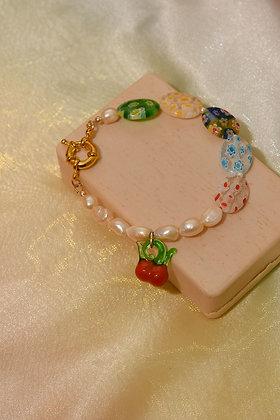 CHERRY OVER THE RAINBOW Bracelet
