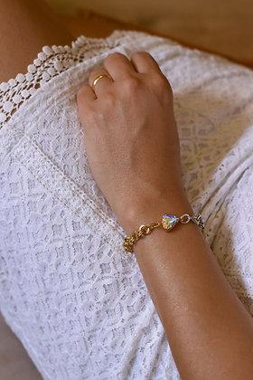 RAINBOW HEARTED Bracelet
