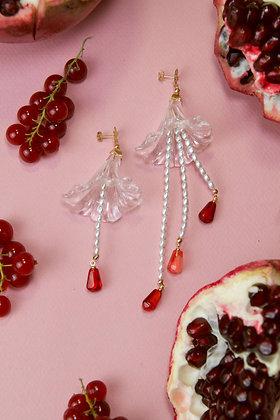 POMEGRANATE VART Earrings