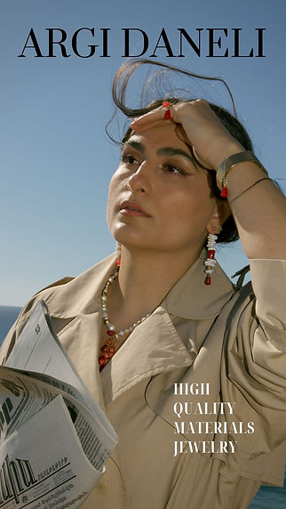 Beige and Black Fashion Magazine Cover Y