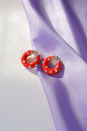 RED SHINE Hoops