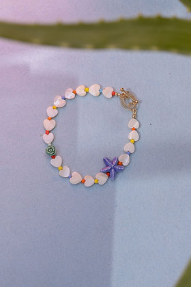 RAINBOW STARFISH Anklet