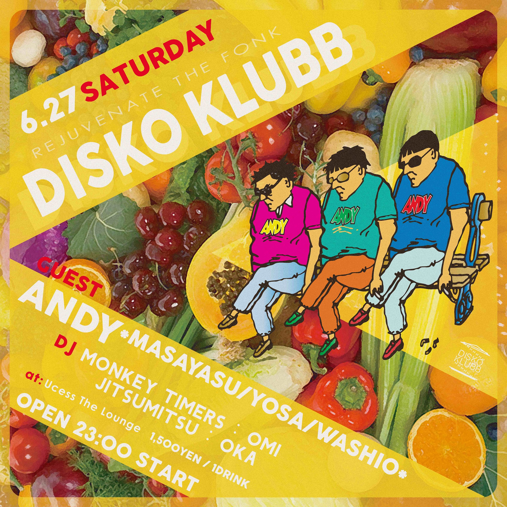 DISKO KLUBB ft ANDY