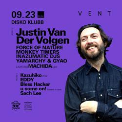 DISKO KLUBB ft JUSTIN VAN DER VOLGEN