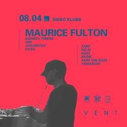 DISKO KLUBB ft MAURICE FULTON