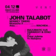 DISKO KLUBB ft JHON TALABOT