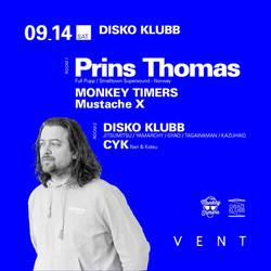 DISKO KLUBB ft Prins Thomas