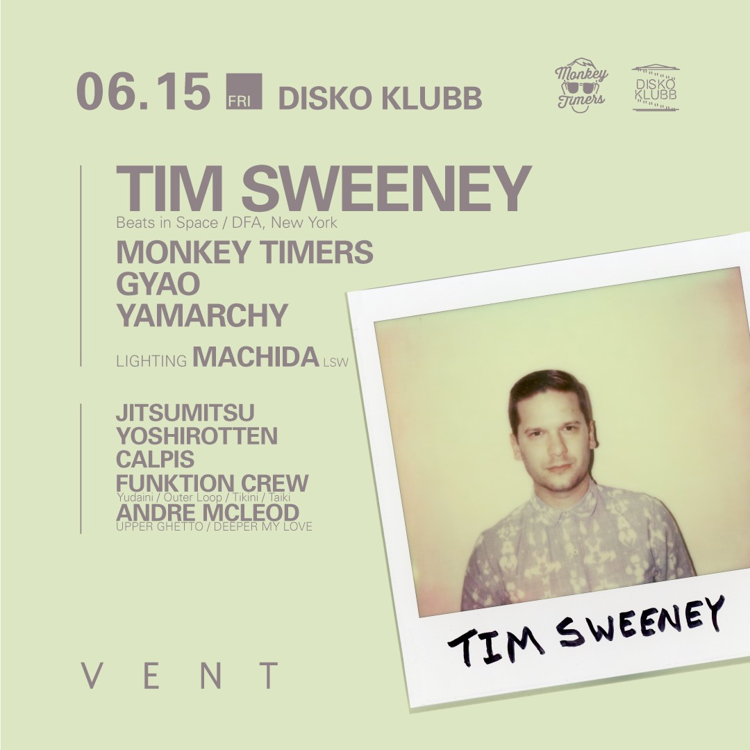 DISKO KLUBB ft TIM SWEENEY