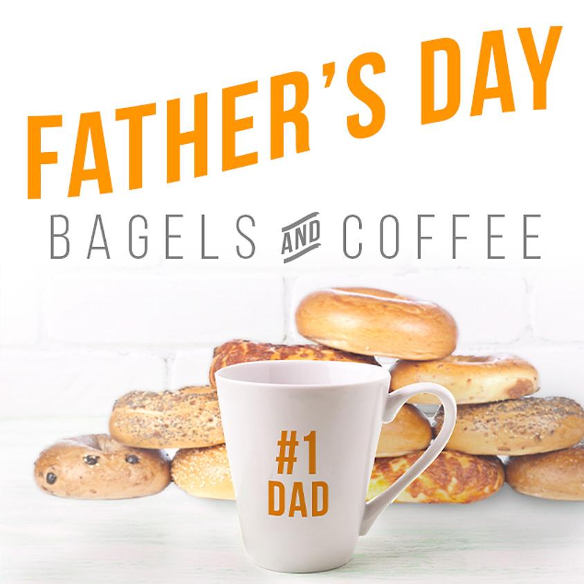 Father's Day Bagel Bar & Raffle
