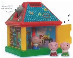 La maison de 3 petits cochons