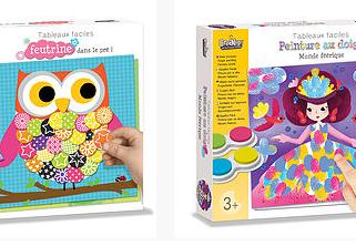 Le 1er décembre : commercialisation de la gamme de loisirs créatifs Crealign