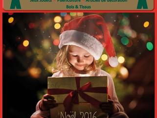 Le catalogue de Noël 2016 le bonhomme de bois est disponible :)