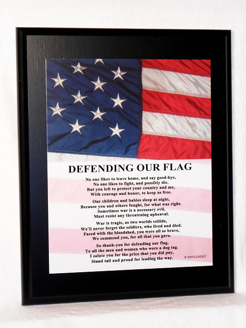 Defending Our Flag