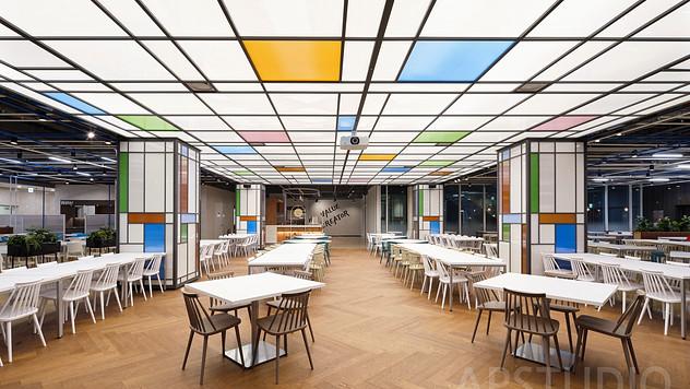 현대오토에버 구내식당