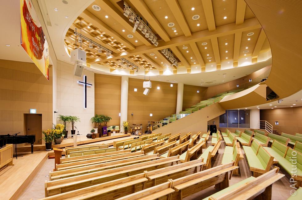 양우상 건축사진 성동교회 예배당