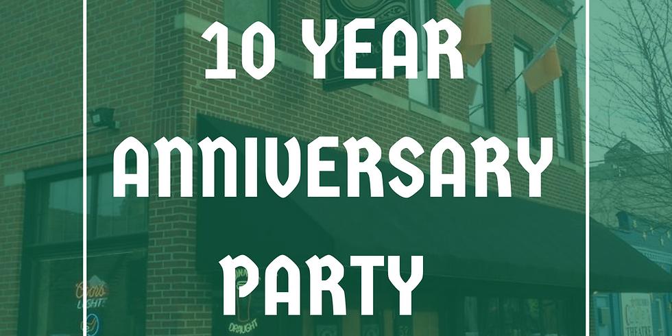 Callahan's 10 Year Anniversary Party