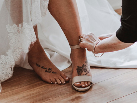 How to choose wedding shoes as the bride or the bride tribe