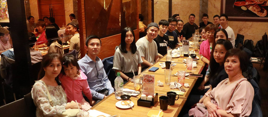 銀河消防集團於旺角帝京酒店舉行公司中秋節自助晚餐2018。