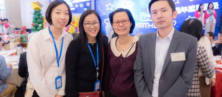 銀河工程集團 主席丁天佑先生 出席基督教懷智服務處40週年感恩聚餐