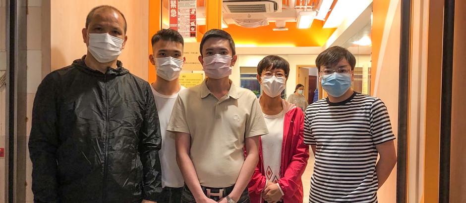 銀河工程集團 於上環聖公會聖馬太長者鄰舍中心參與由香港青年協會主辦「鄰舍第一.送米助人」米站義工服務
