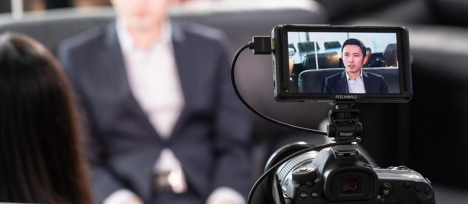 【銀 河 工 程 集 團】 主席 丁天佑先生獲Now TV邀請接受新一季節目【營商 ‧ 識見】訪問
