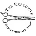 The Executive Barbershop and Salon Logo.