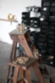 brass socket industrial design atelier french WO & WÉ Lyon