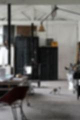 atelier créateur artisanal luminaire patine