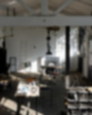 Olivier Abry WO & WÉ studio workshop for WO & WÉ COLLECTION lighting Lyon France