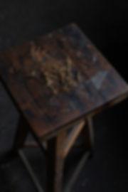 patine vintage bois acier laiton cuivre artisanat fait main savoir faire