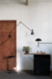 french atlier light fixture custom handmade