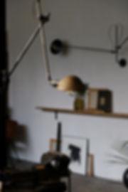 applique murale lamp vintage patine atelier boheme