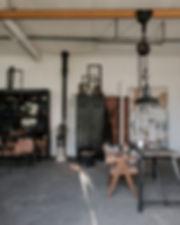 galerie atelier artisanal luminaire fabrique création fait main France