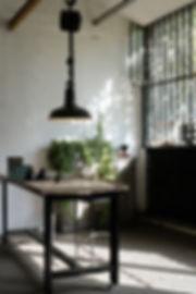 grand plafonnier d'atelier verrière lumière studio Lyon