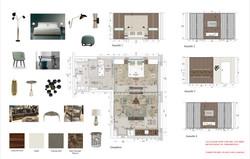 150831 Palais Varnhagen_W4.2_Appartement Grundriss_Ansichten A0