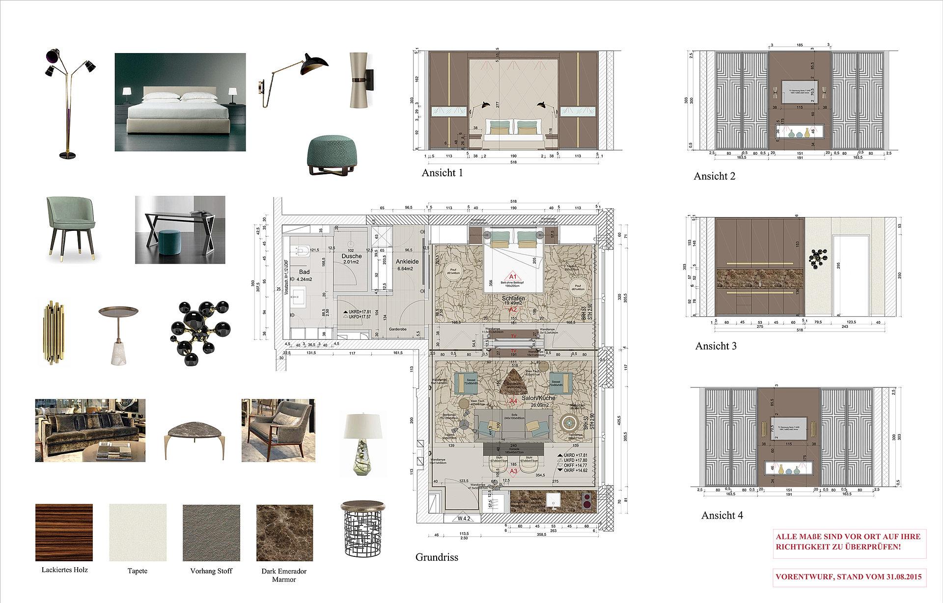 Palais Varnhagen interiordesign studio apartment palais varnhagen