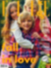 copertina Elle Kids settembre 2016