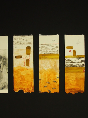 Works on Paper, Kerry Lodge Archaeology and Art Project.